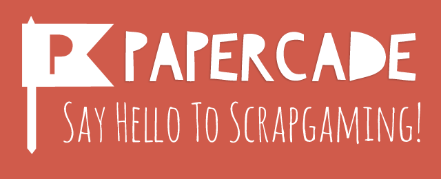 Papercade - Say Hello to Scrap-Gaming!